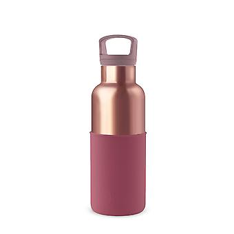 Pink Gold Thermal Bottle And Tumbler Set