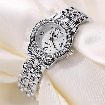 LVPAI XR1671-1 الماس السيدات اللباس المعصم ووتش الصلب الكامل أنيقة تصميم كوارتز