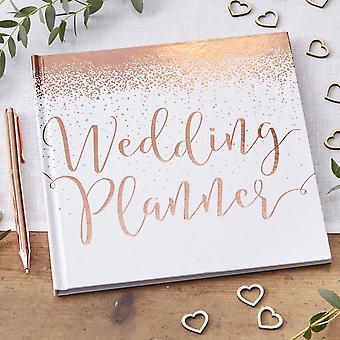 Wedding Planner - Rose Gold - innbundne minnesmerke ideer bok