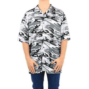 Balenciaga Normal Fit Shirt Camouflage Black 647651TJLC51240 Top