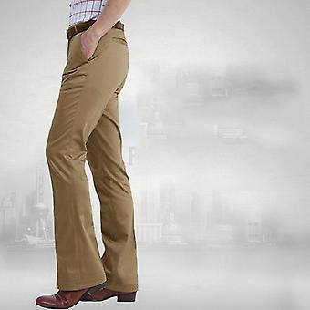 Spring Flared Pants, Men's Casual Hot Feet Trousers