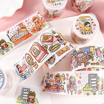 Decorative Specil Oil Paper Masking Washi Tape