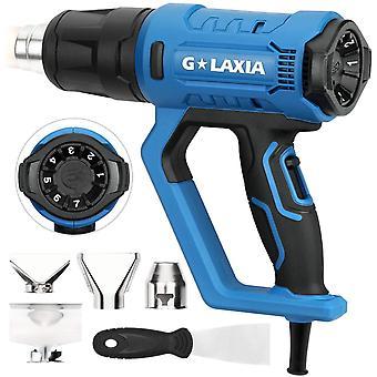 Heat Gun, G LAXIA 2000 Walt Variable Temperature Control Hot Air Gun (50℃- 600℃)
