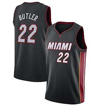 Miami Heat No.22 Jimmy Butler Loose Basketball Jersey Sportshirts 3QY015