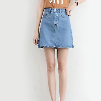 Women Fashion Summer High Waist Korean Mini Skirt