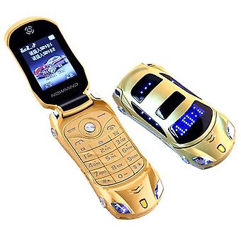 Original Newmind F15 Flip Phone Dual Sim Led Light Screen