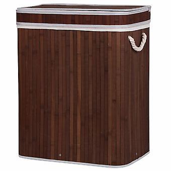 100L vasketøjskurv til bambus
