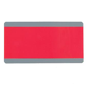 "Big Reading Guide, 3.75"" X 7.25"", Red"