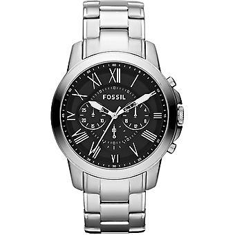 Fossil Mens Chronograph Watch FS4736 Acier inoxydable