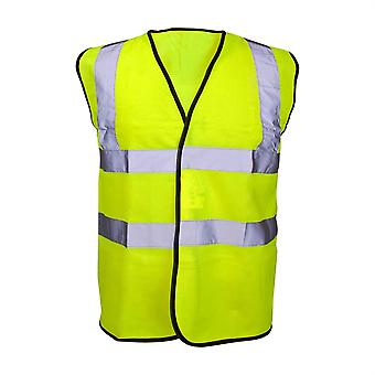 Reflective Bib Vest Fluoro Yellow