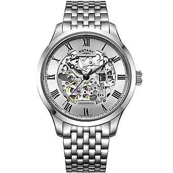 Mens Watch Rotary GB02940/06, Automaat, 42mm, 5ATM