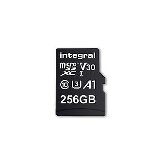 Integral 256GB Micro SD Card MicroSDXC UHS-1 U3 Cl10 V30 A1 Up To 100Mbs Read 90Mbs Write
