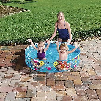 Bestway Fill-N-Fun Sparking Sea Paddling Pool for Kids 122 x 25 cm