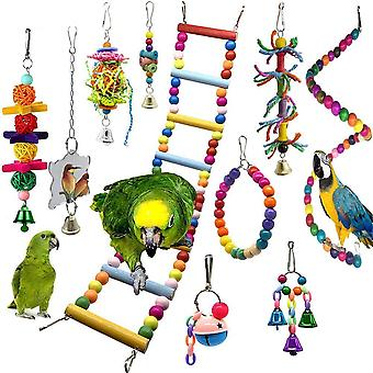 Bird Swing Chewing Training Toy