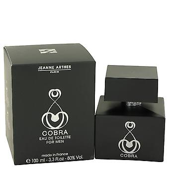 Cobra Eau De Toilette Spray By Jeanne Arthes 3.3 oz Eau De Toilette Spray