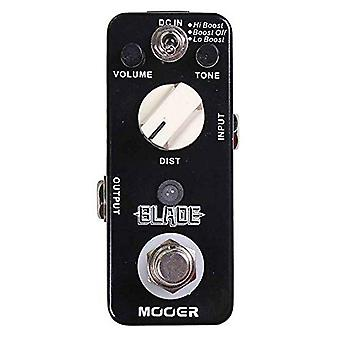 Mooer blade, metal distortion micro pedal