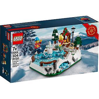 Pista di pattinaggio LEGO 40416