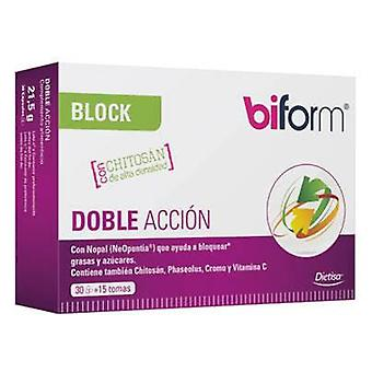 Biform Block Double Action 30 Capsules
