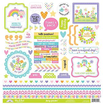 Doodlebug Design Fairy Garden This & That Stickers
