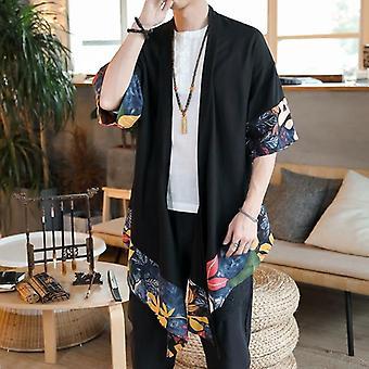 Giacca giapponese Kimono Cardigan Uomo