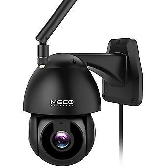 IP Kamera Outdoor, MECO ELEVERDE 1080P WLAN Kamera HD Schwenk-/Neige-WiFi-Kamera mit
