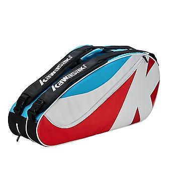 Kawasaki Badminton Bag Kbb-8685 (6 Pcs) Tennis Bag Independent Shoe Warehouse