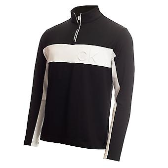 Skechers Quarter Zip Manga Longa Golf Sweater Mens