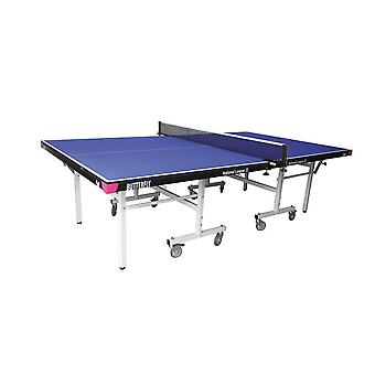 Butterfly National League 22 Rollaway Table Tennis Table Set - Blue