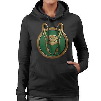 Marvel Avengers Loki Silhouette Icon Women's Hooded Sweatshirt
