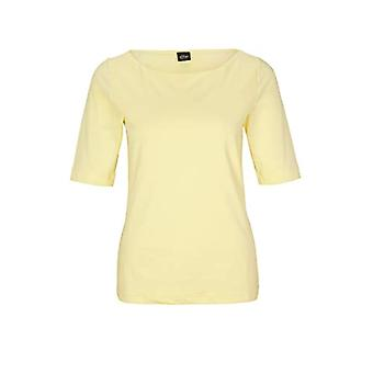 s.Oliver BLACK LABEL 150.10.005.12.130.2051607 T-Shirt, Soft Yellow, 40 Woman