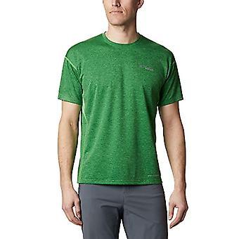 Columbia Irico Knit Manica Corta T-Shirt Uomo Uomo, Uomo, Maglietta da Uomo, 1886361, Boa Verde, XXL