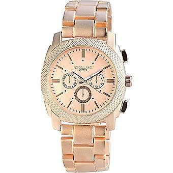 Excellanc Men's Wristwatch XL, Analog Quartz, Different Materials 280935500002