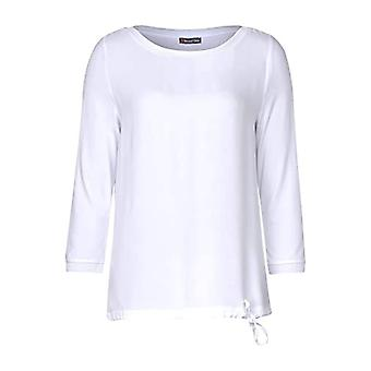 Street One 314810 Darleen T-Shirt, White, 44 Woman(1)