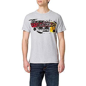 Pepe Jeans AMERSHAM T-Shirt, 933grey Marl, L Man