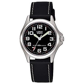 Lorus Analogueic Horloge Quartz Kind met Lederen Band RRS53LX9