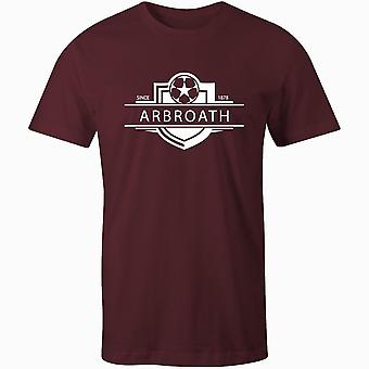 Arbroath 1878 gevestigde badge voetbal t-shirt