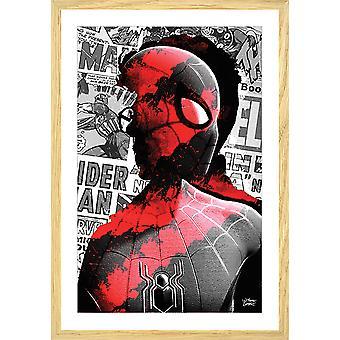 Poster graffiti spiderman