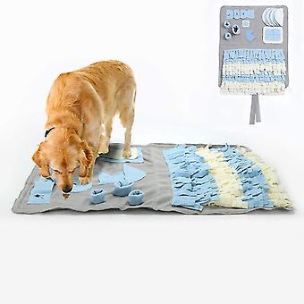 Schnüffelteppich für Hunde Schnüffelrasen Hund Schadstofffreies Hundespielzeug Fördert Natürliche