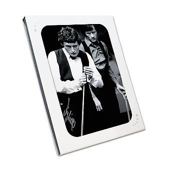 Jimmy White Underskrevet Foto: World Snooker Championship Semi-Final. I gaveæske
