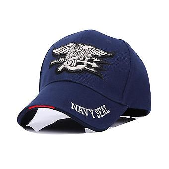 Man Baseball Cap Navy Seals Hat Tactical Military Fans Sports Cap Embroidery Comfortable Cotton Snapback Hat