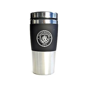 Man City Executive Handleless Stainless Steel Travel Mug