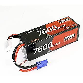 Centro 4S 7600Mah 14.8V 100C Hardcase Lipo Batteri Ec5