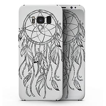 Aquarell Dreamcatchers V11 - Samsung Galaxy S8 Ganzkörper Haut Kit