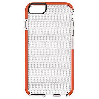 Tech21 Classic Check Case for Apple iPhone 6 Plus/6S Plus (Clear/Orange)