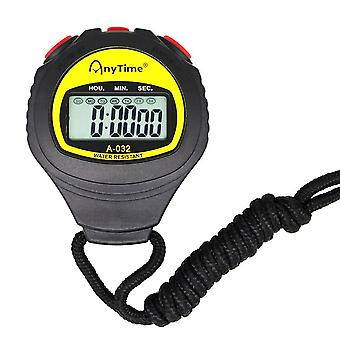 Digital Sport Counter Timer Professional Athletic Stopwatch Portable Outdoor Game Timer Hour Meter