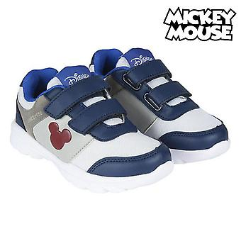 Children's Casual Trainers Mickey Mouse Blue / White