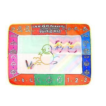 Lasten vesipiirrosmatto aqua magic doodle matto lauta asettaa vesimaalaus (GROUP2)