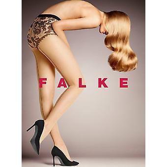 Falke Sheer Lady 20 Den sukkahousut - Puuteri /Musta