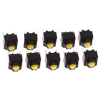 Кнопка отключения звука 6 * 6 * 7,3 мм тихий переключатель
