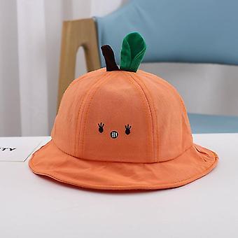Kevät ja syksy aurinko hattu pojat ja tytöt sarjakuva ämpäri hattu vauva ämpäri hattu